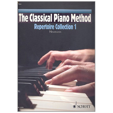 Heumann, H.-G.: The Classical Piano Method – Repertoire Collection Band 1 (+CD)