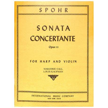 Spohr, L.: Sonata concertante Op. 113 D-Dur