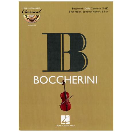 Boccherini, L.: Violoncellokonzert G 482 B-Dur (+CD)