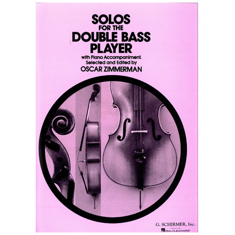 Solos For The Double Bass Player (Zimmerman)