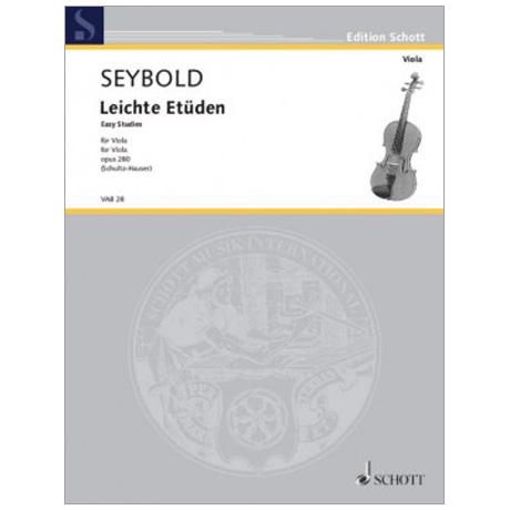 Seybold, A.: Leichte Etüden Op. 280