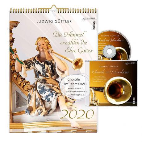 Wandkalender »Die Himmel erzählen die Ehre Gottes 2020« (+CD)