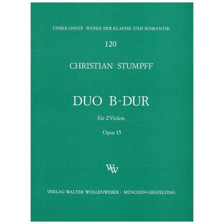 Stumpff, J. C.: Duett Op. 15 B-Dur