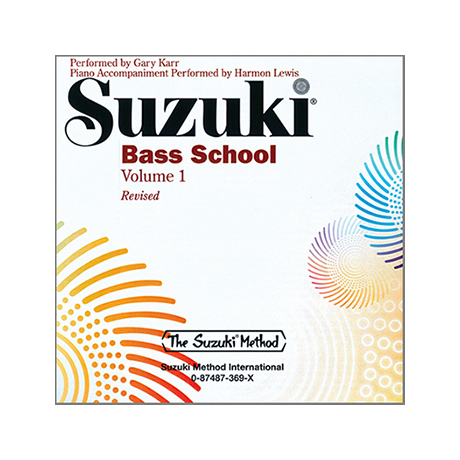 Suzuki Bass School Vol. 1 – CD