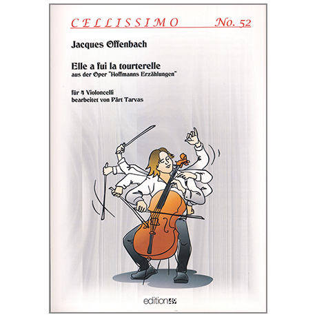 Offenbach, J.: »Elle a fui la tourterelle« aus der Oper »Hoffmanns Erzählungen«