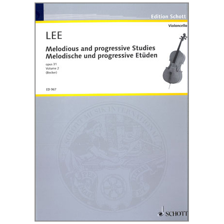 Lee, S.: Melodische und Progressive Etüden Op. 31 Band 2