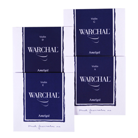WARCHAL Ametyst violin strings SET