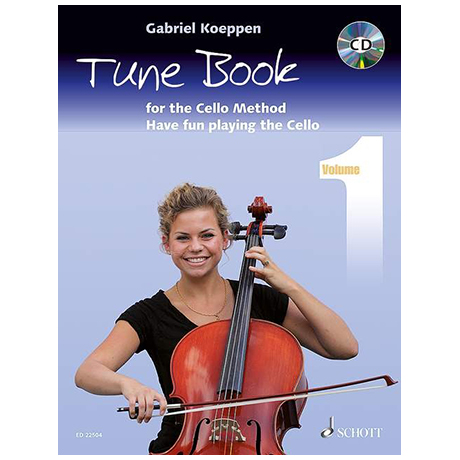 Koeppen, G.: Cello Method Tune Book 1 (+CD)