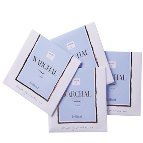 WARCHAL Brilliant viola strings SET