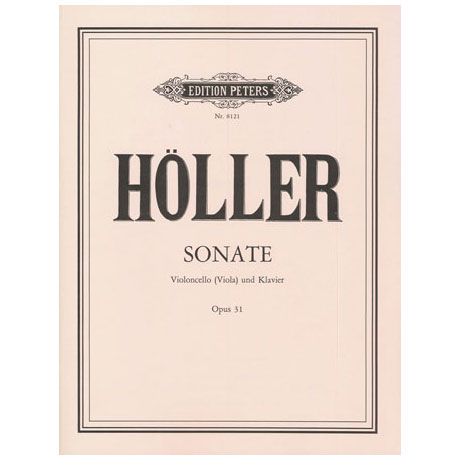 Höller, K.: Violasonate Op. 31
