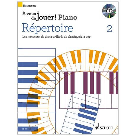 Heumann, H.-G.: Répertoire 2 (+CD)