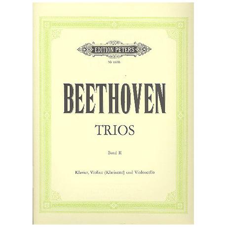 Beethoven, L. v.: Klaviertrios Op. 36, Op. 38