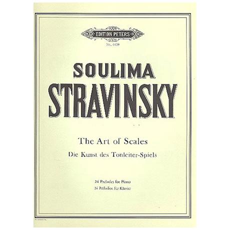 Strawinsky, S.: Kunst des Tonleiterspiels