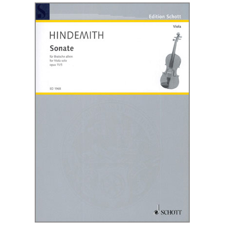 Hindemith, P.: Violasonate Nr. 5 Op. 11