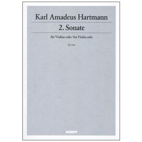 Hartmann, K. A.: Sonate Nr. 2