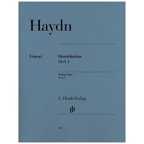 Haydn, J.: Streichtrios Band 1 (Divertimenti) Hob. V: 1-4, 6-8, 10-13