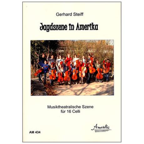 Steiff, G.: Jagdszene in Amerika