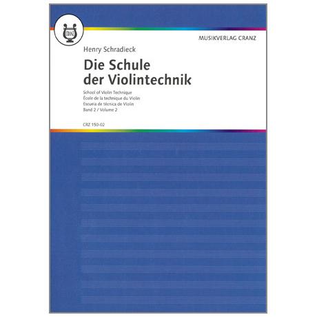Schradieck, H.: Die Schule Der Violintechnik, Band 2
