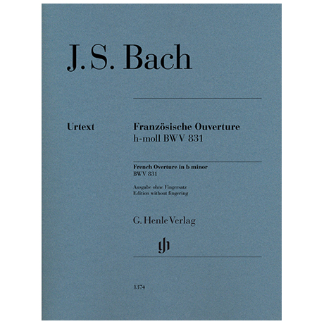 Bach, J. S.: French Overture BWV 831 B minor