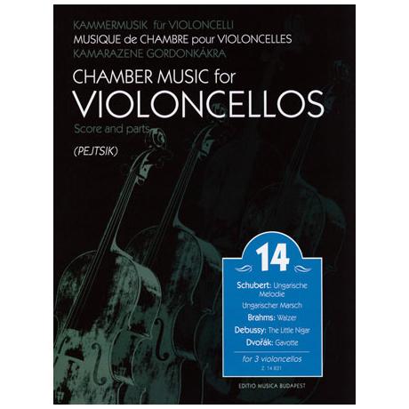 Kammermusik für Violoncelli Band 14