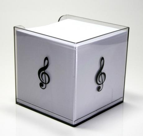 Notepad box MUSIC