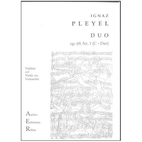 Pleyel, I.: Duo Op. 69/1 C-Dur