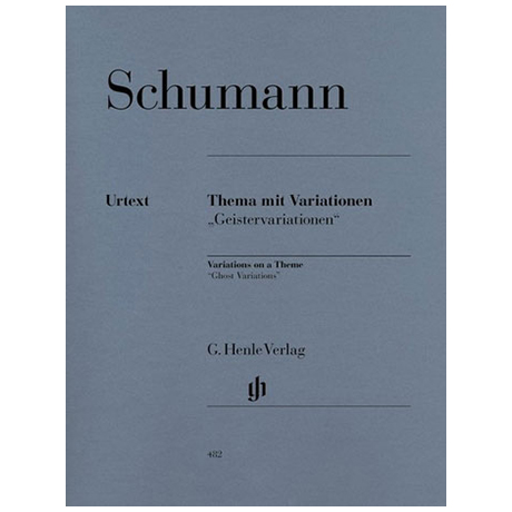 Schumann, R.: Variationen über ein eigenes Thema in Es-Dur (Geistervariationen) Anh. F 39