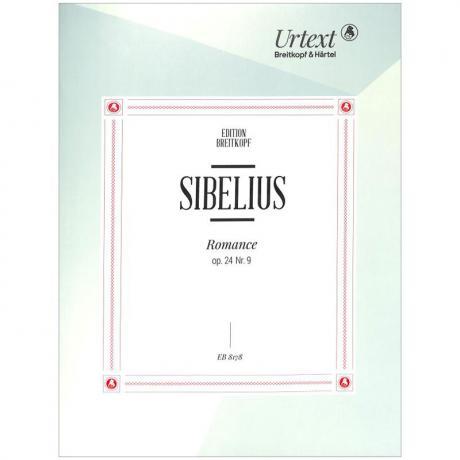 Sibelius, J.: Romanze Op. 24/9 Des-Dur