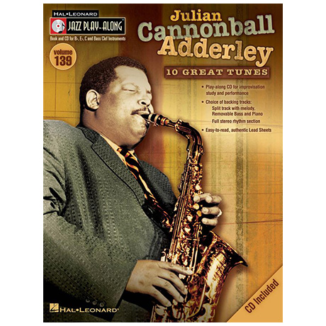 Julian Cannonball Adderley (+CD)
