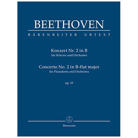 Beethoven, L. v.: Konzert für Klavier und Orchester Nr. 2 B-Dur Op. 19
