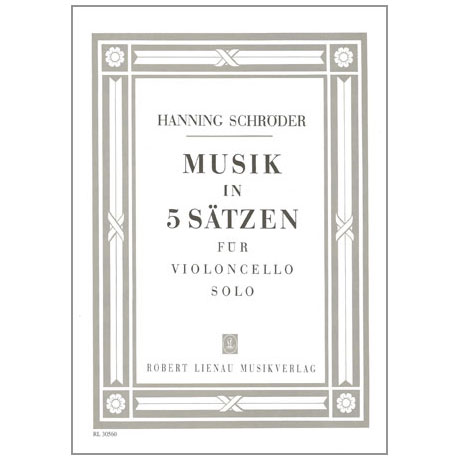 Schröder, H.: Musik in 5 Sätzen