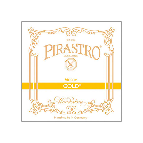 PIRASTRO Gold violin string G 4/4 | medium