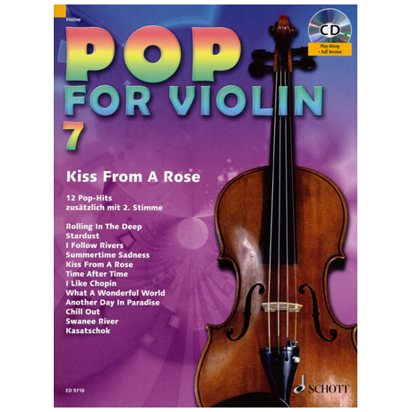 Pop for Violin Vol. 7 (+CD)