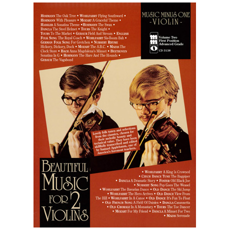 Beautiful Music for 2 Violins Vol.2 (+2CDs)
