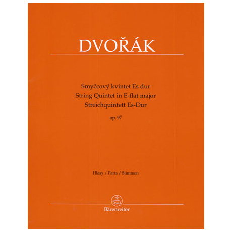 Dvořák, A.: Streichquintett Op. 97 Es-Dur