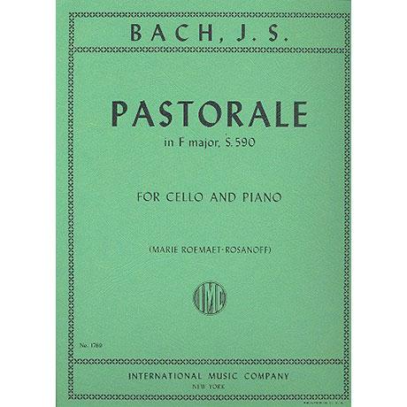 Bach, J. S.: Pastorale