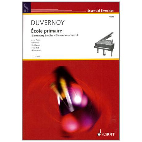 Duvernoy, J.-B.: Ecole primaire Op. 176