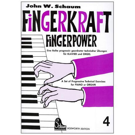 Schaum, J. W.: Fingerkraft Band 4