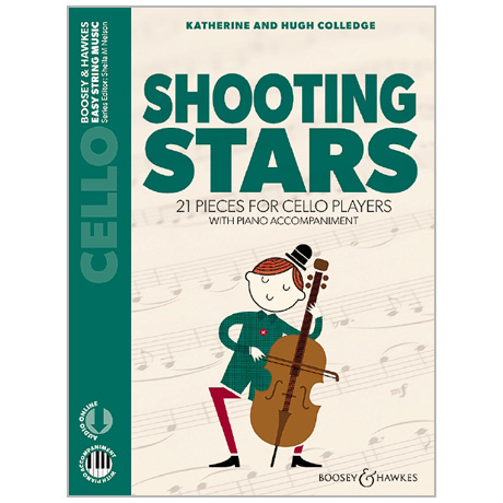 Colledge, K. & H.: Shooting Stars for Cello (+Online Audio)