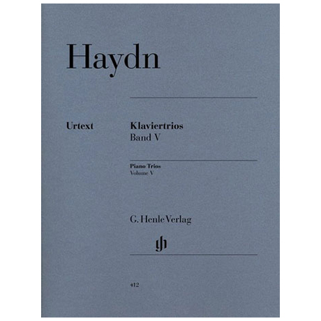 Haydn, J.: Klaviertrios Band 5 Hob XV:27-32