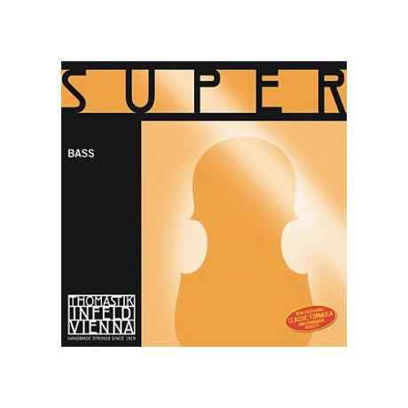 THOMASTIK Superflexible bass strings SET