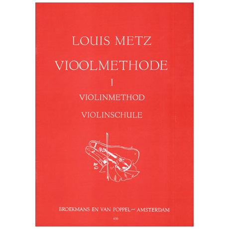 Metz, L.: Violinschule Band 1