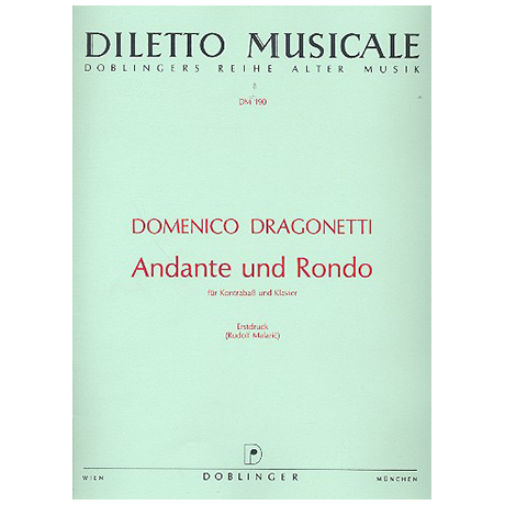 Dragonetti, D.: Andante und Rondo