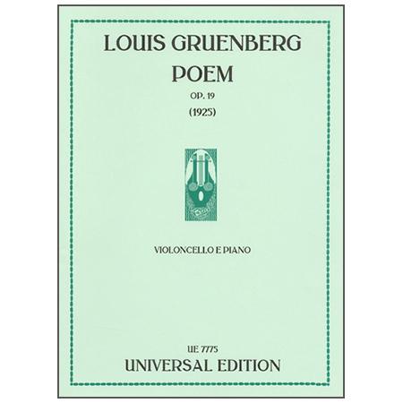 Gruenberg, L.: Poem Op. 19 (1925)