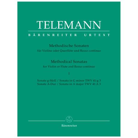 Telemann, G. Ph.: Methodische Sonaten – Band 1