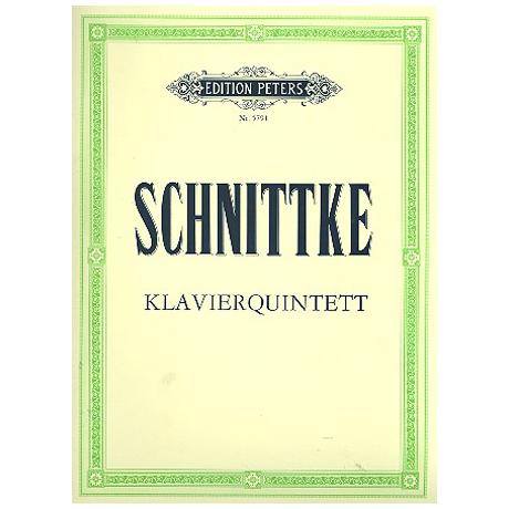 Schnittke, A.: Klavierquintett