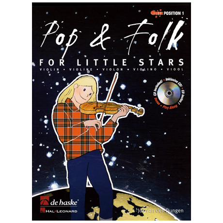 Pop and Folk for little Stars (+CD)