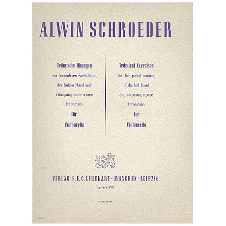 Schroeder, A.: Technische Übungen für die linke Hand