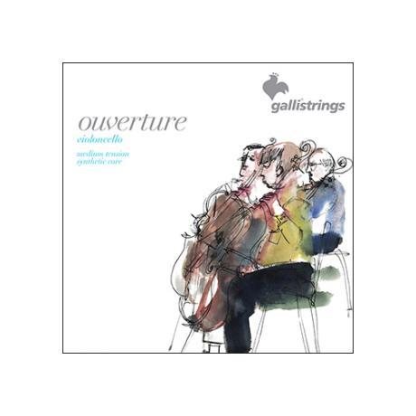 GALLI STRINGS Ouverture cello strings SET