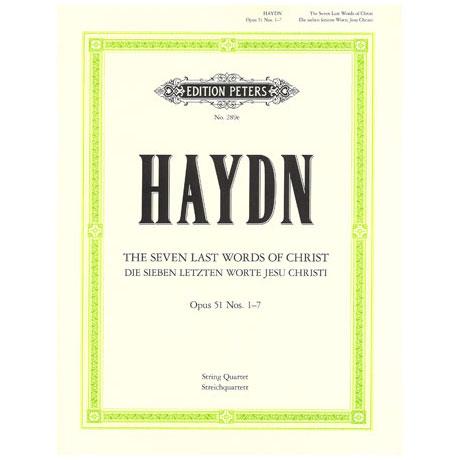 Haydn, J.: Streichquartett »Die sieben letzten Worte« Op. 51